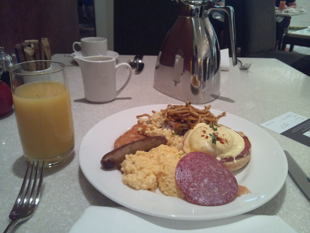 シドニーシェラトン・朝食