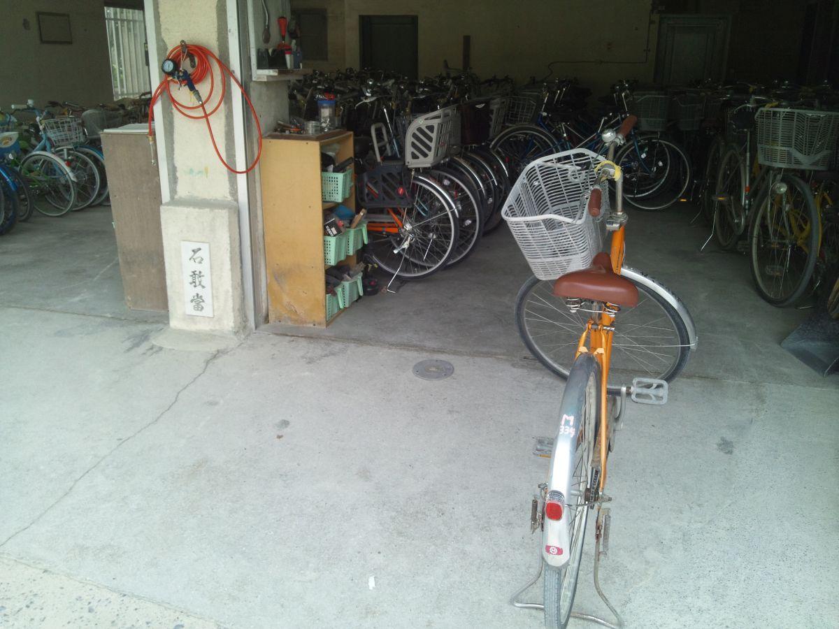 竹富島・自転車