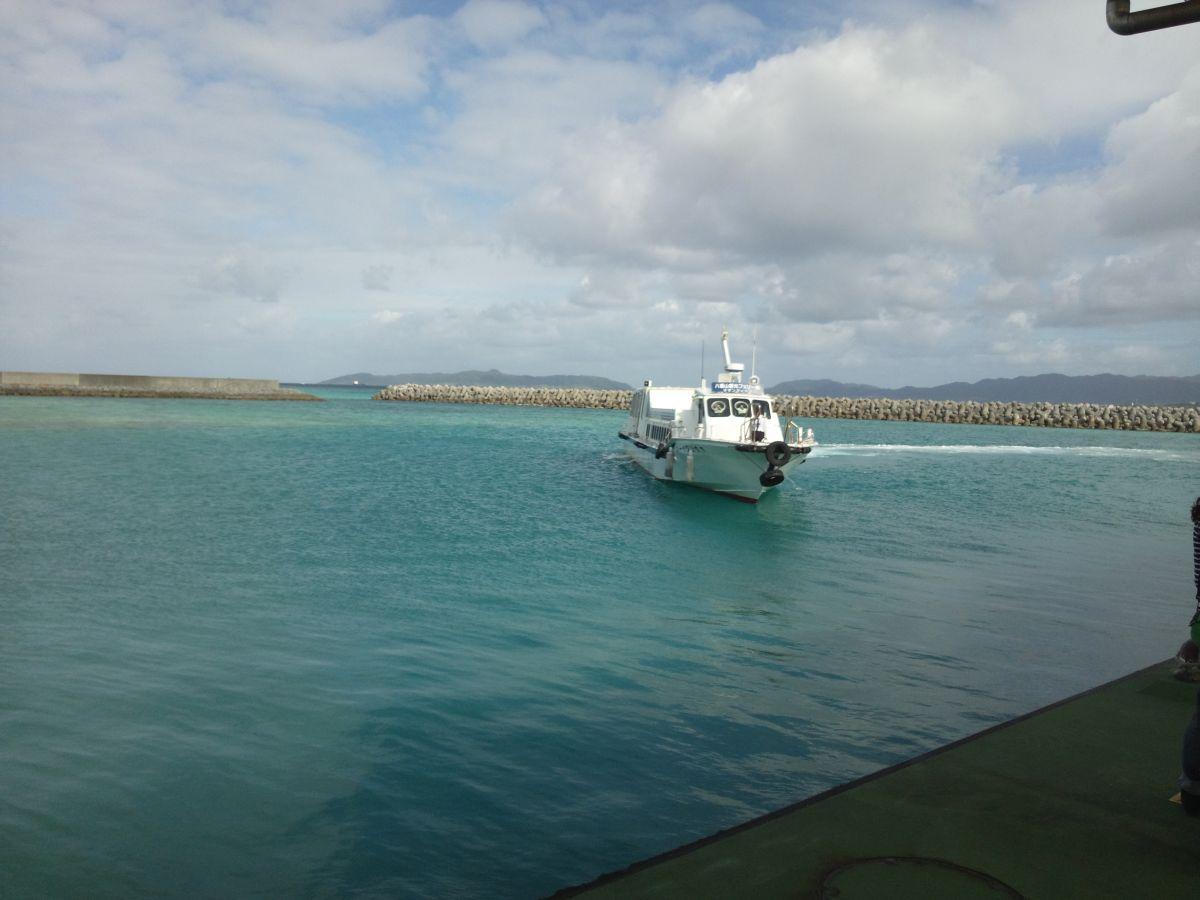 竹富島・船