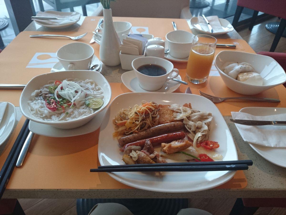 ノボテル ダナン プレミア ハン リバー朝食