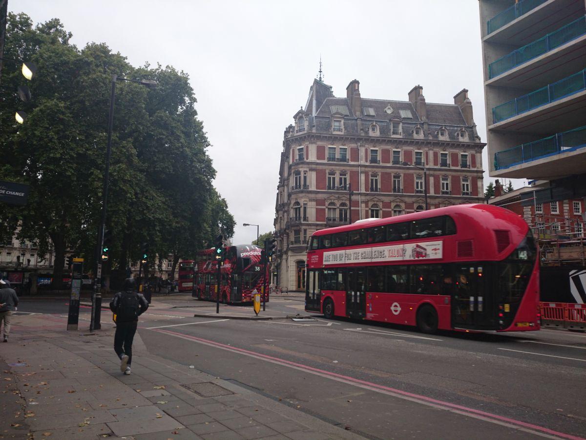 ロンドンヴィクトリア駅