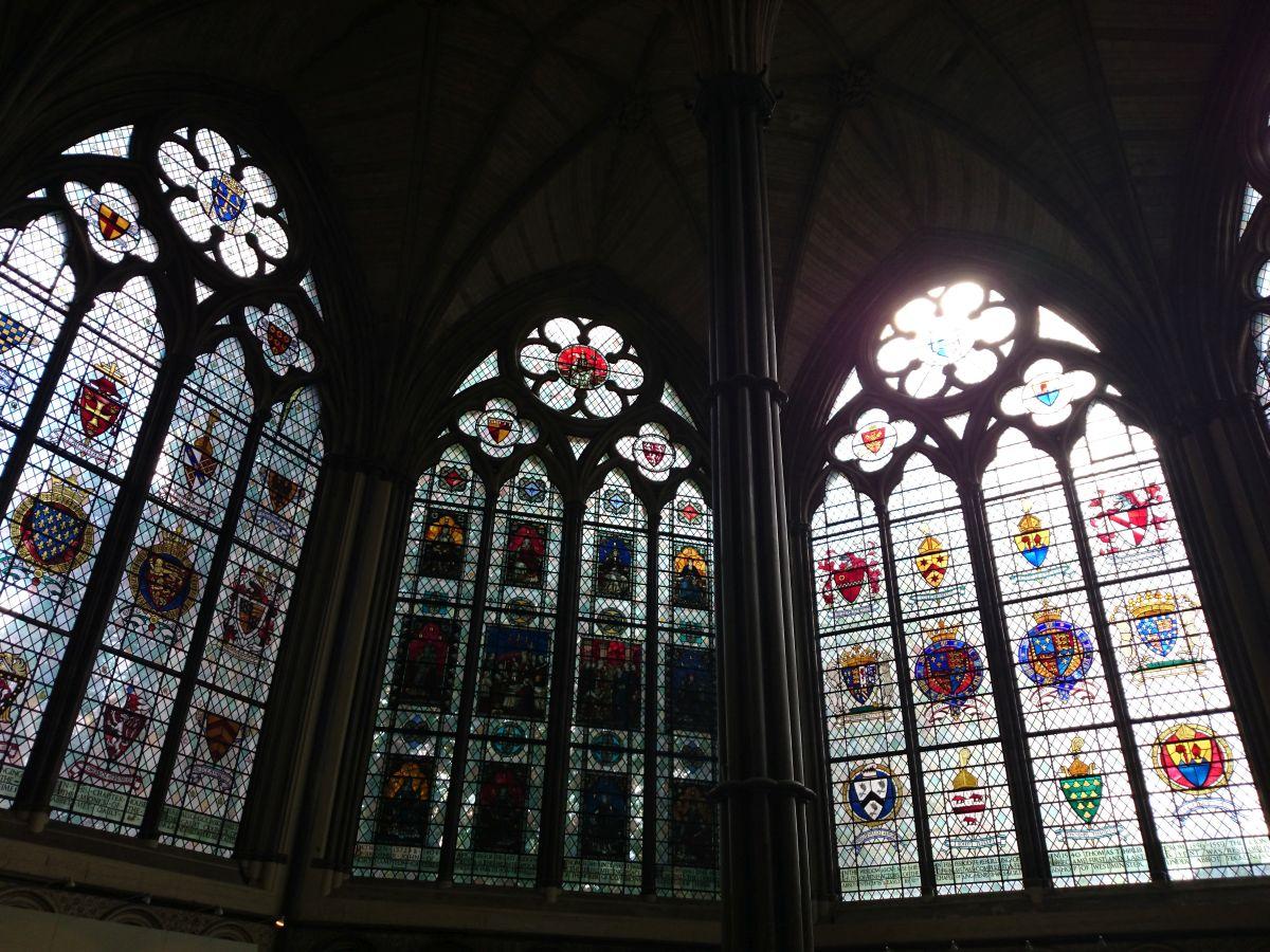 ウエストミンスター寺院 ステンドグラス