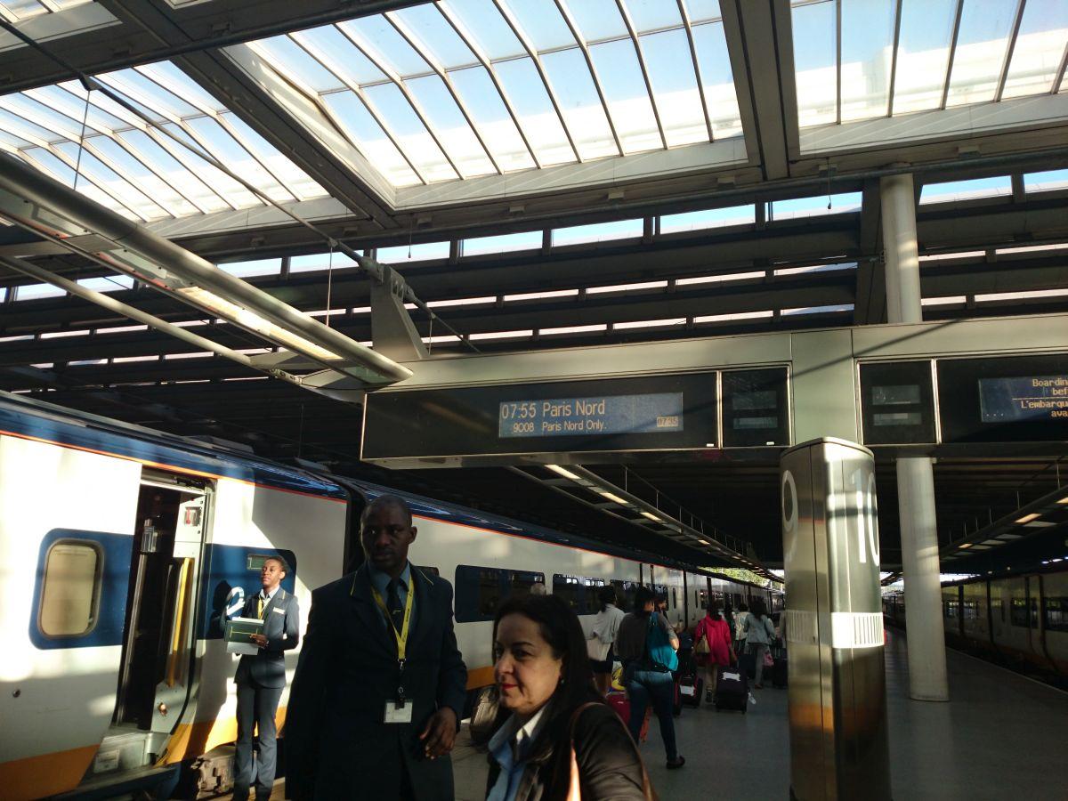 セント・パンクラス駅 ユーロスター