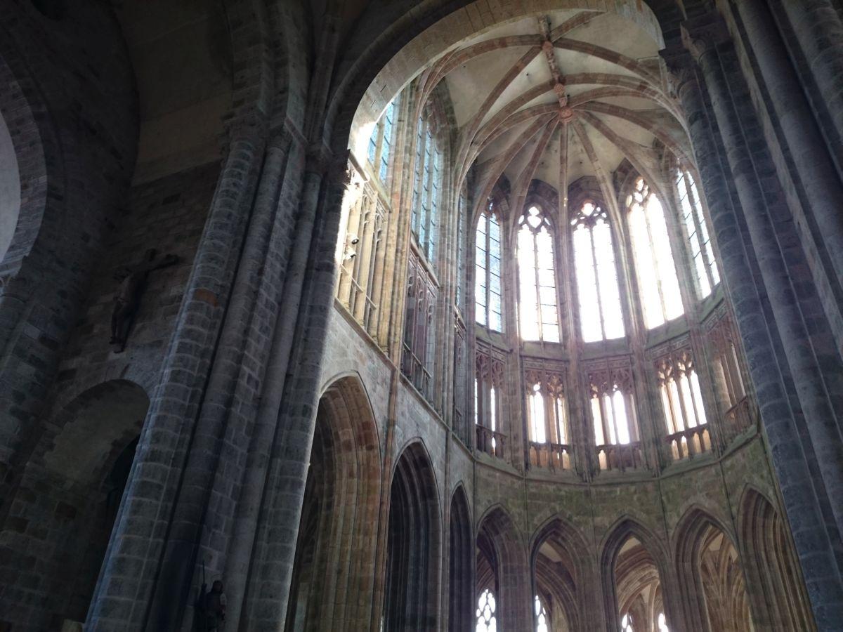 モンサンミッシェル 修道院