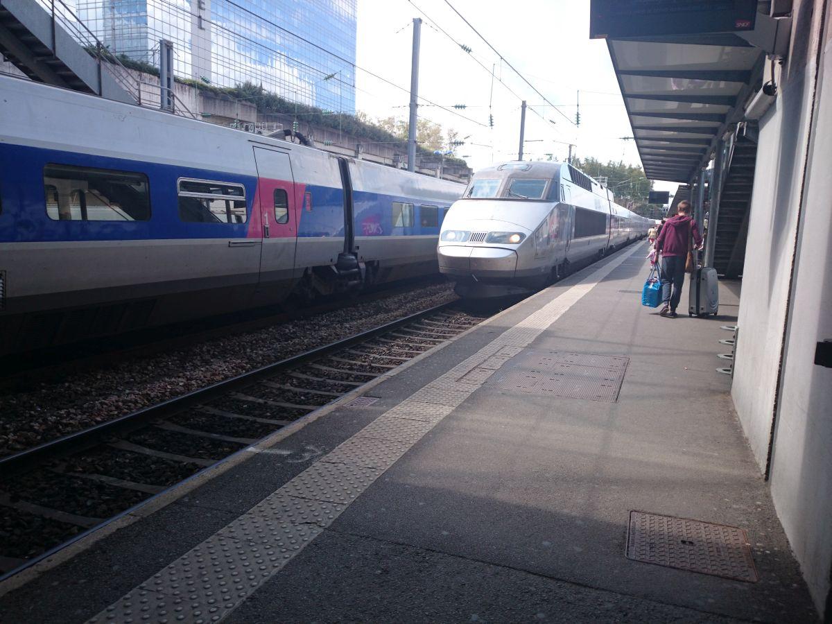 レンヌ TGV