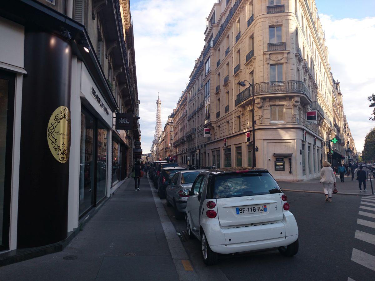 パリ 街並み