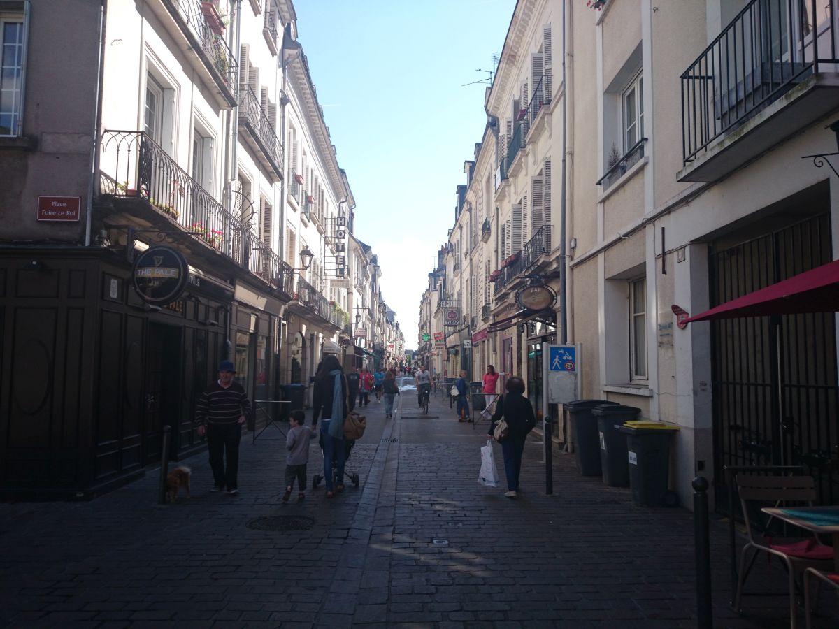 トゥール 街並