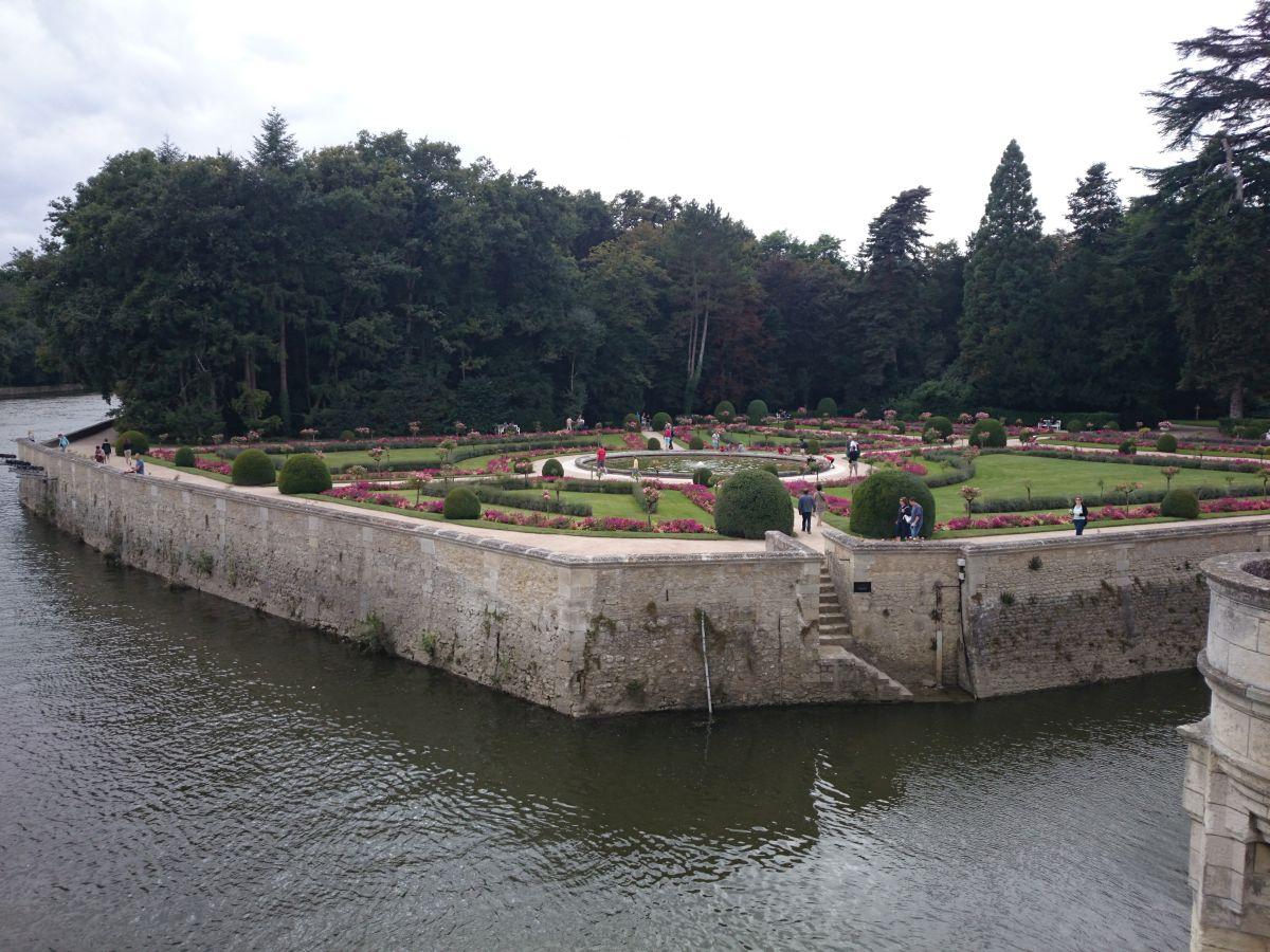 シュノンソー城 庭園