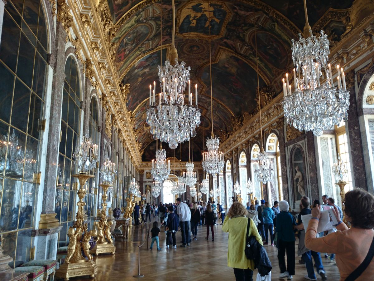 ヴェルサイユ宮殿 鏡の間 鏡の回廊