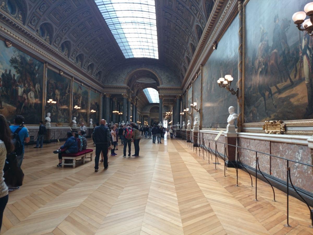 ヴェルサイユ宮殿 戦闘の回廊