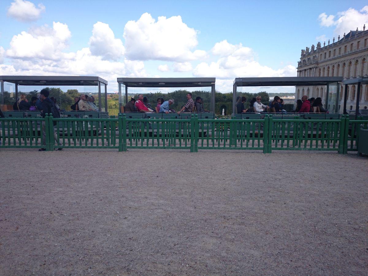 ヴェルサイユ宮殿 ミニトレイン