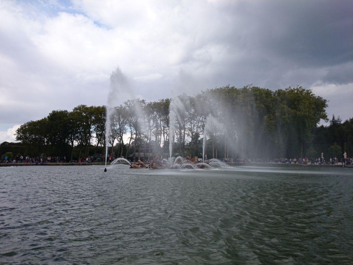 ヴェルサイユ宮殿 噴水