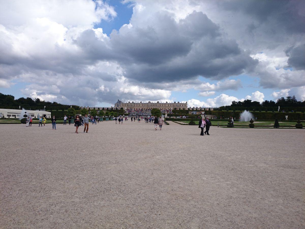 ヴェルサイユ宮殿 噴水ショー