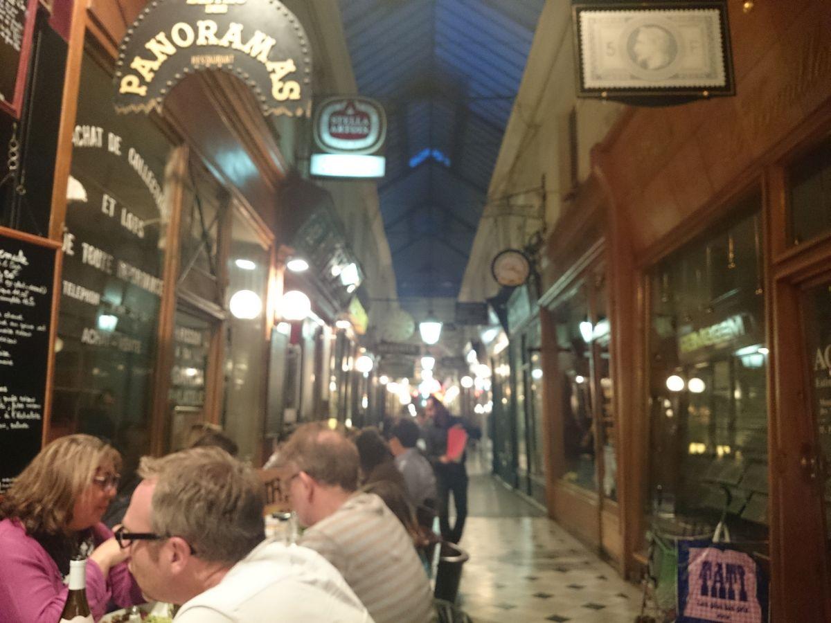 パリ ディナー