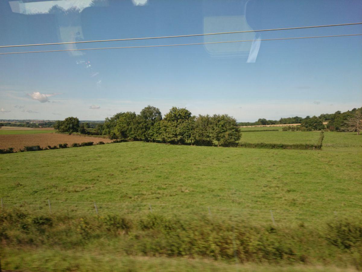 TGV 車窓