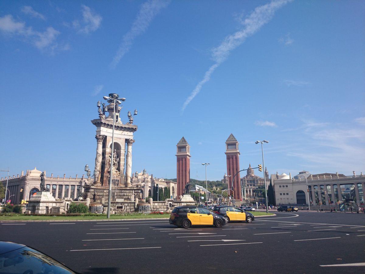 バルセロナ 街並