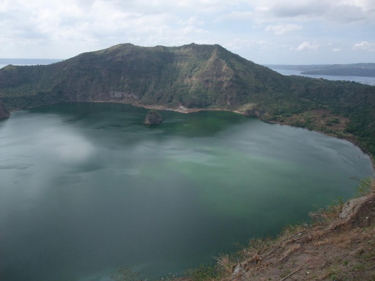 タール山 火口