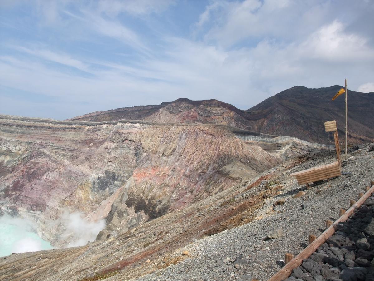 阿蘇山 中岳 火口