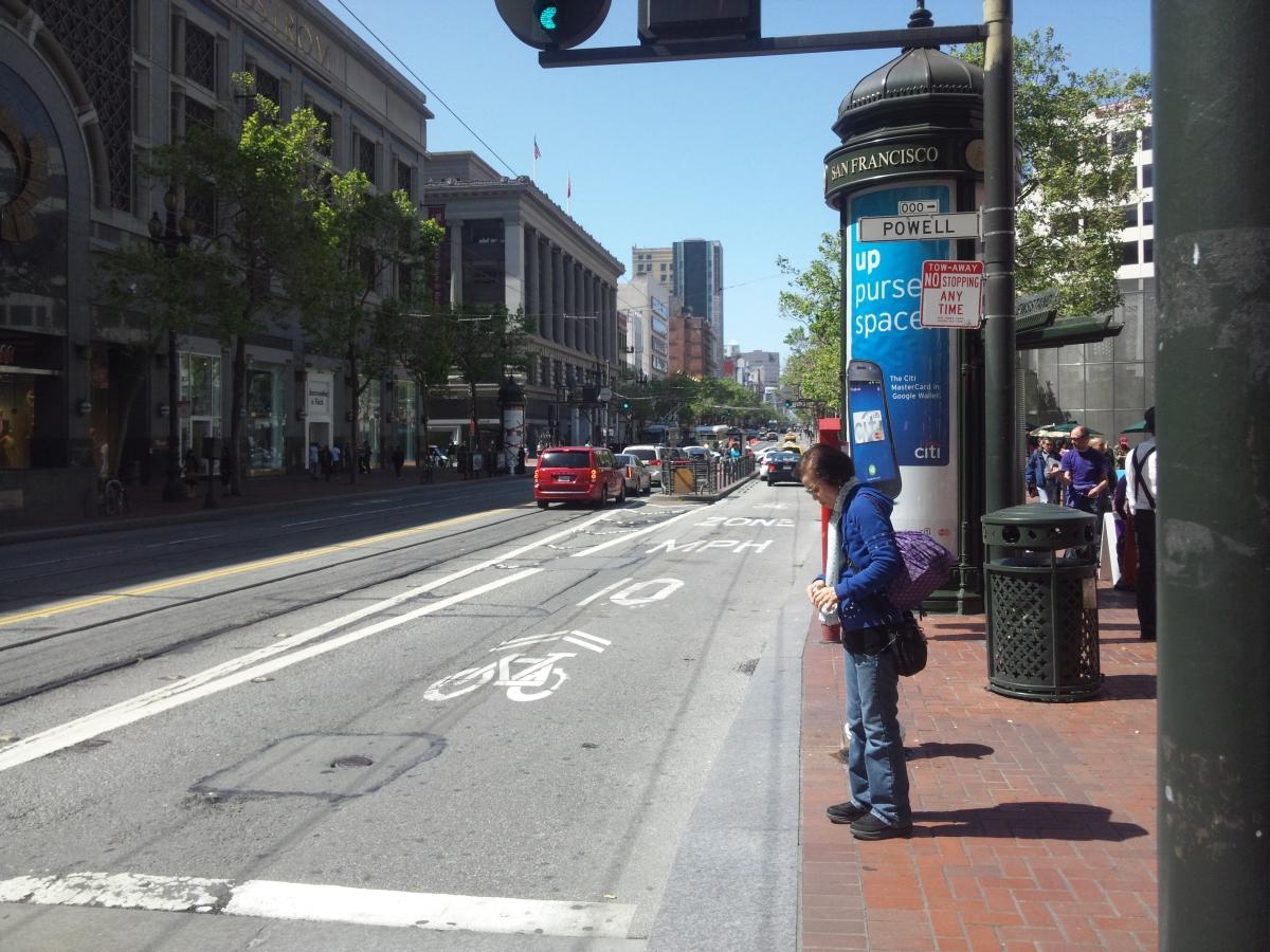サンフランシスコ パウエルストリート