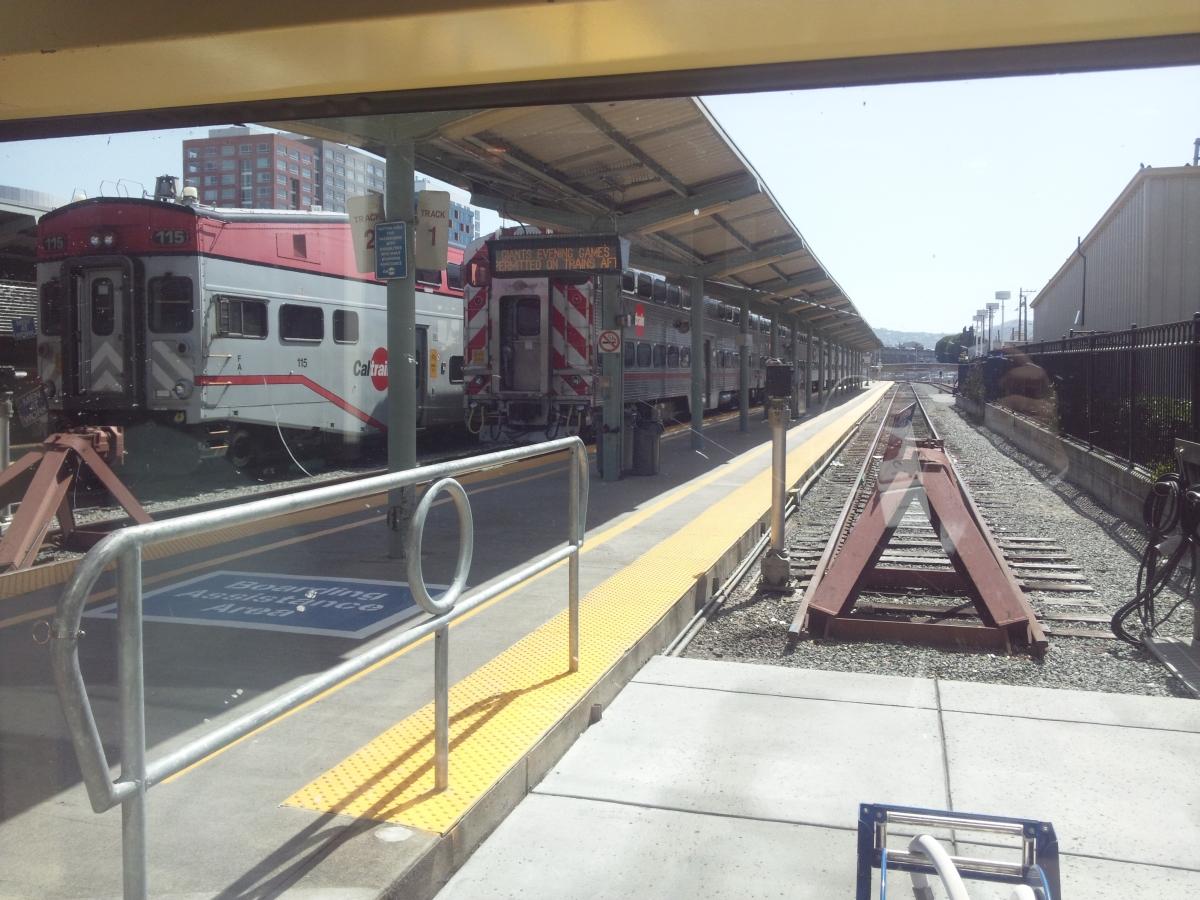サンフランシスコ カルトレイン駅