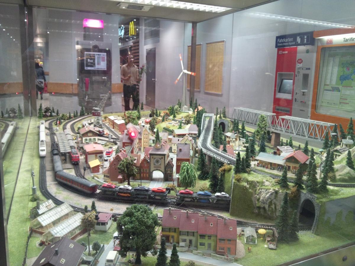 ケルン中央駅 模型