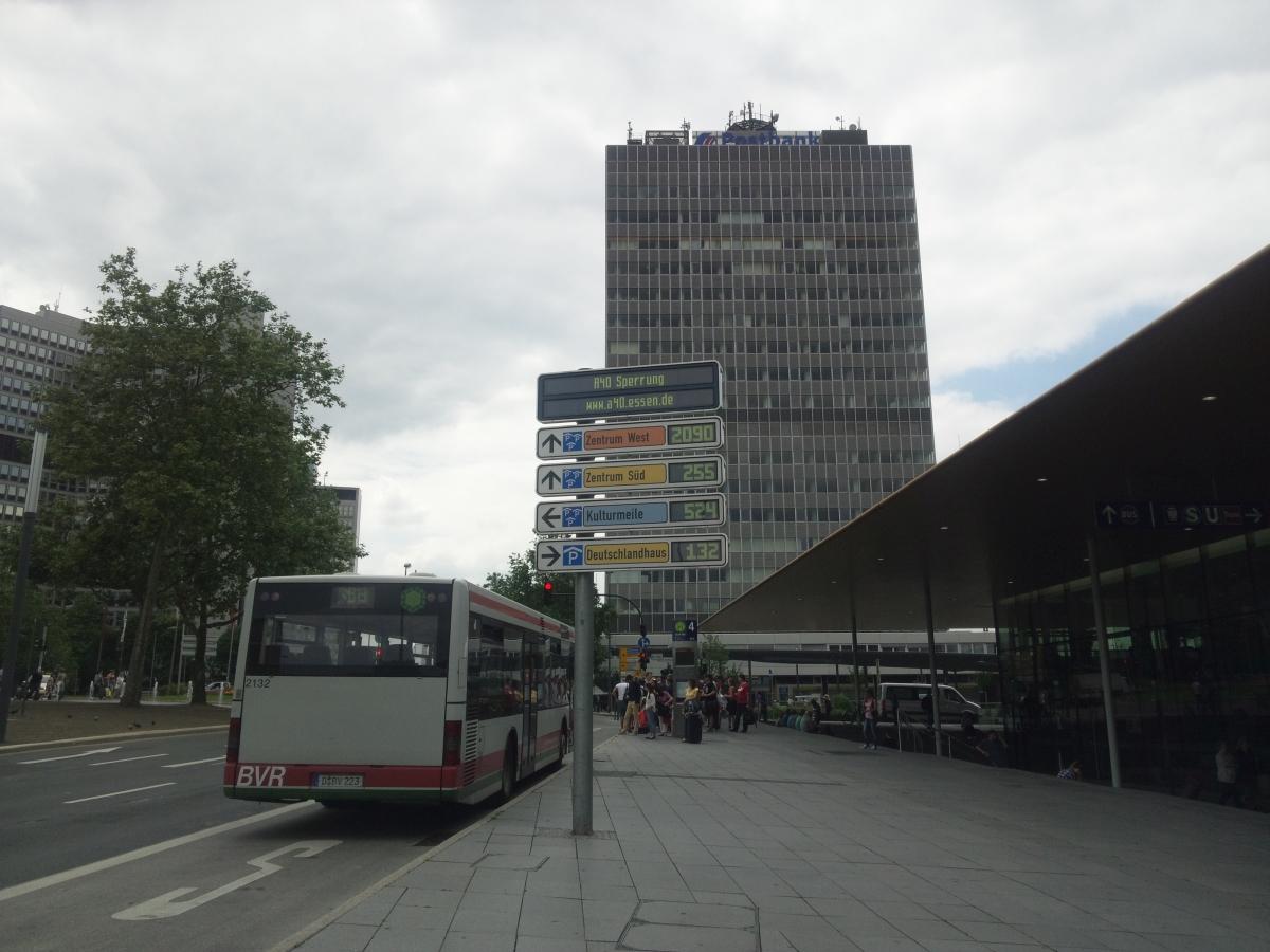エッセン中央駅