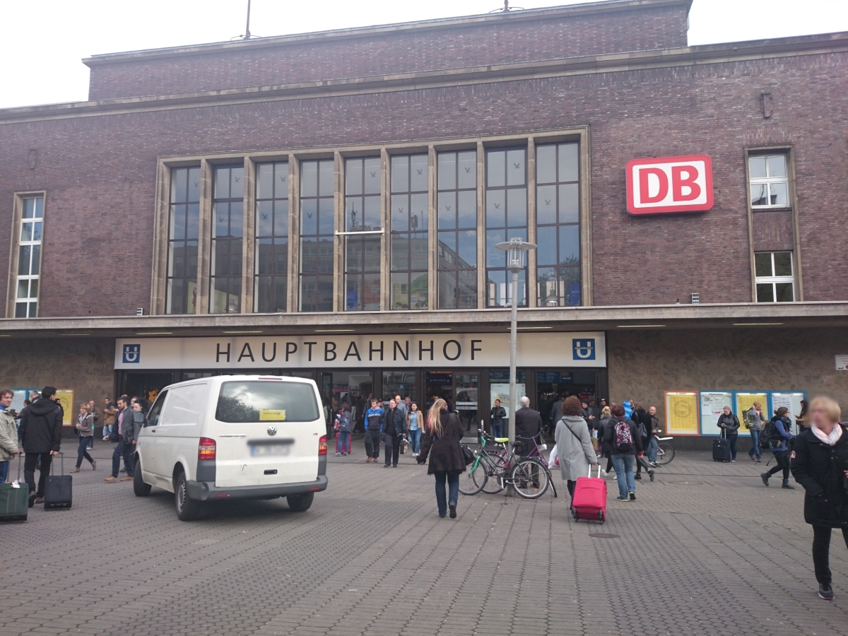 Düsseldorf Hbf デュッセルドルフ中央駅