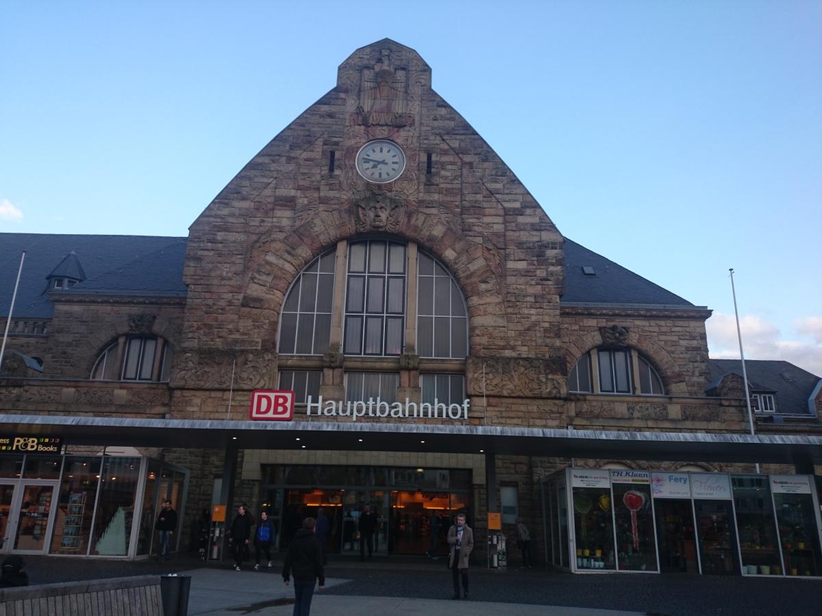 Aachen Hbf アーヘン中央駅