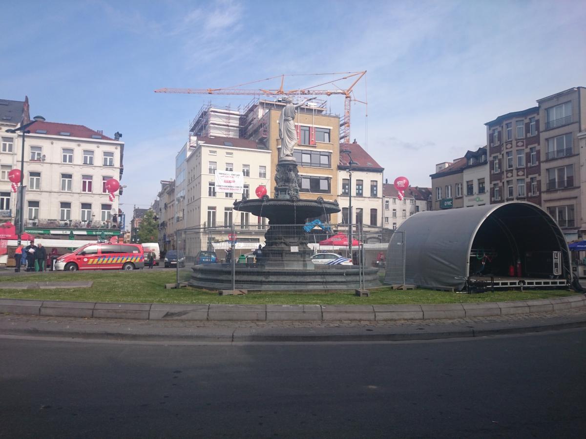 ブリュッセル ループ広場