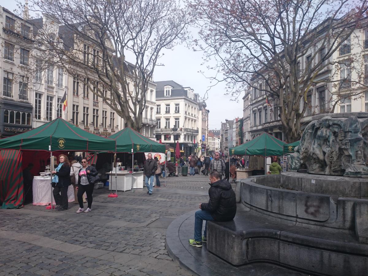 ブリュッセル 街並み
