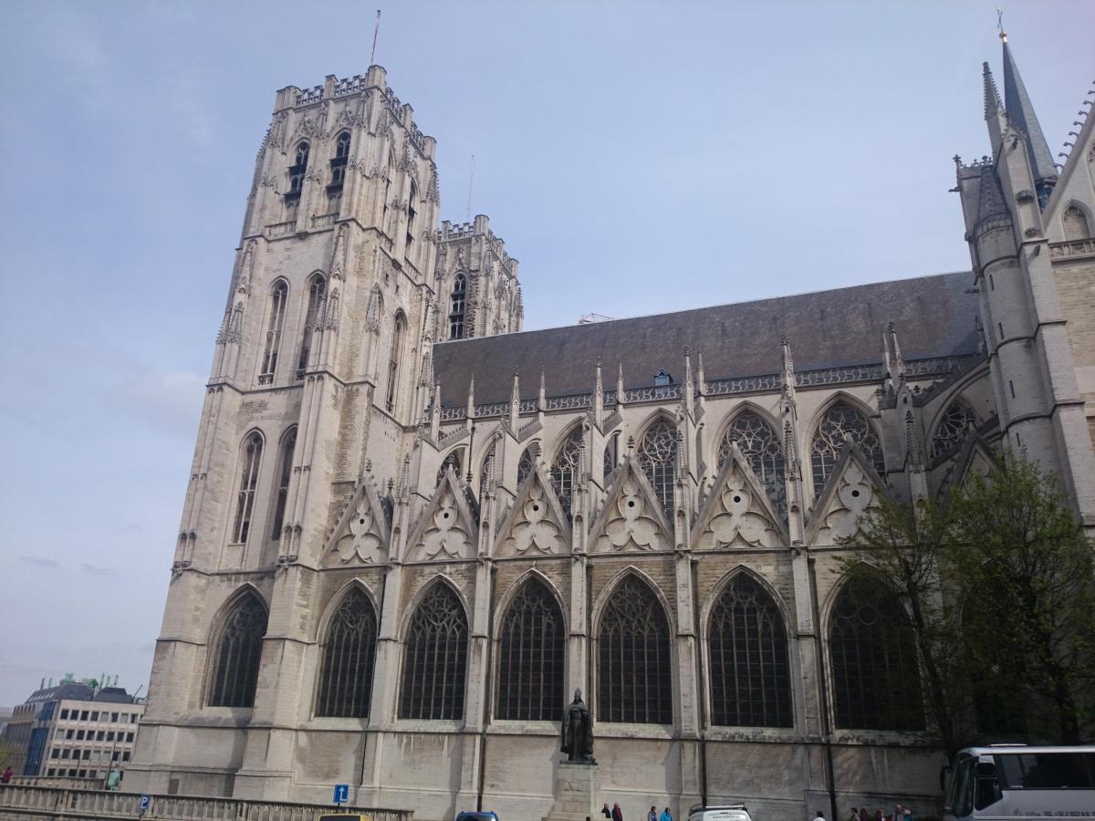 ブリュッセル サン・ミッシェル大聖堂