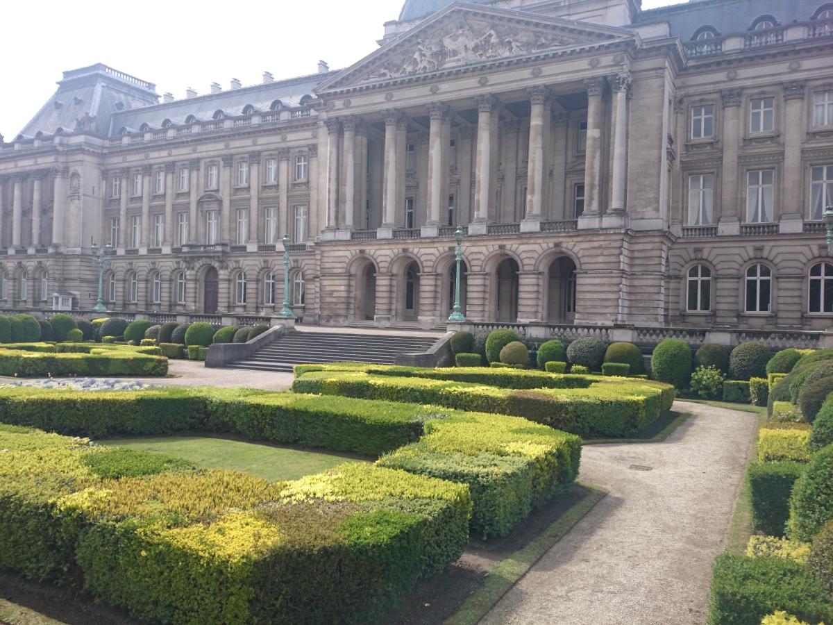 ブリュッセル 王宮