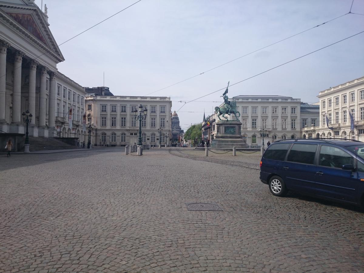 ブリュッセル ロワイヤル広場
