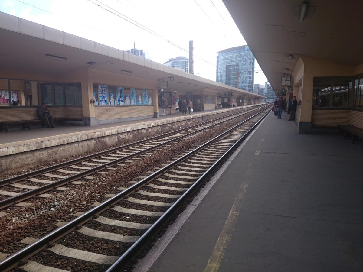 ブリュッセル北駅 Gare de Bruxellles-Nord