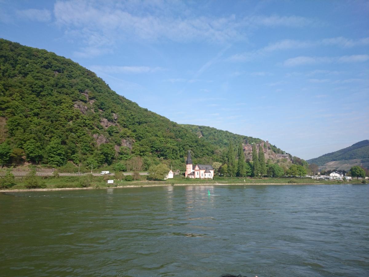 クレメンス教会 clemenskapelle ライヒェンシュタイン城 Burg Reichenstein