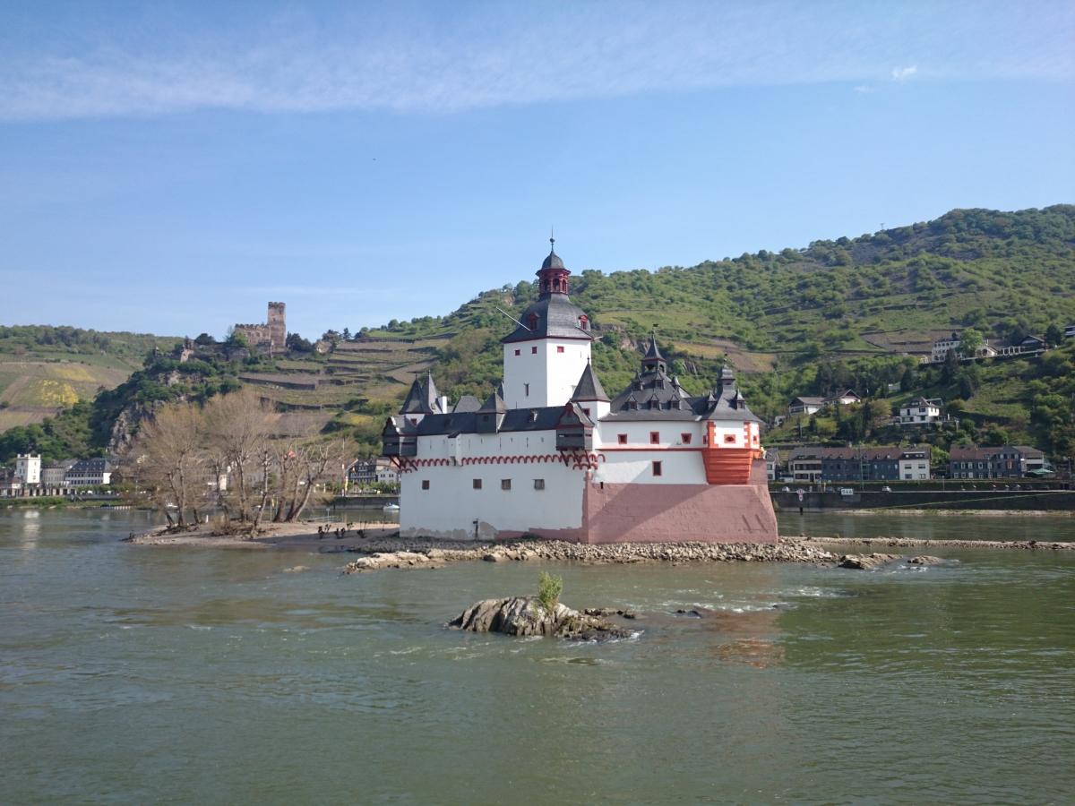 プファルツ城 Burg Pfalzgrafenstein グーテンフェルス城 Burg Gutenfels