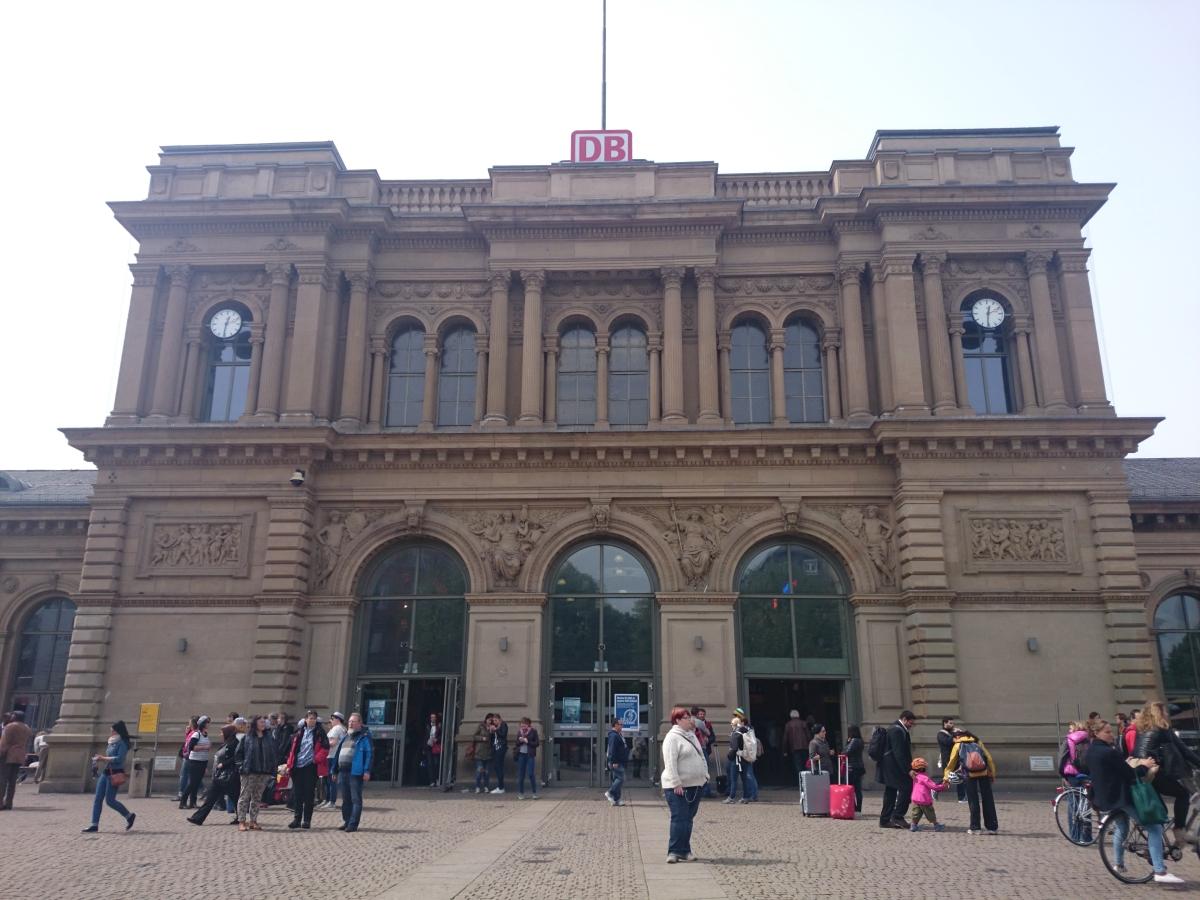 マインツ中央駅 Mainz Hbf