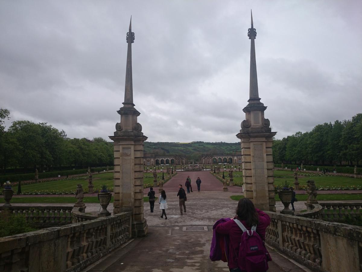 ヴァイカースハイム城 庭園
