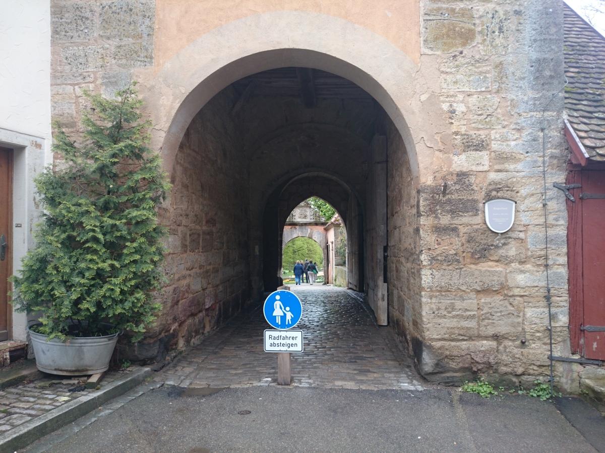 ローテンブルク ブルク門