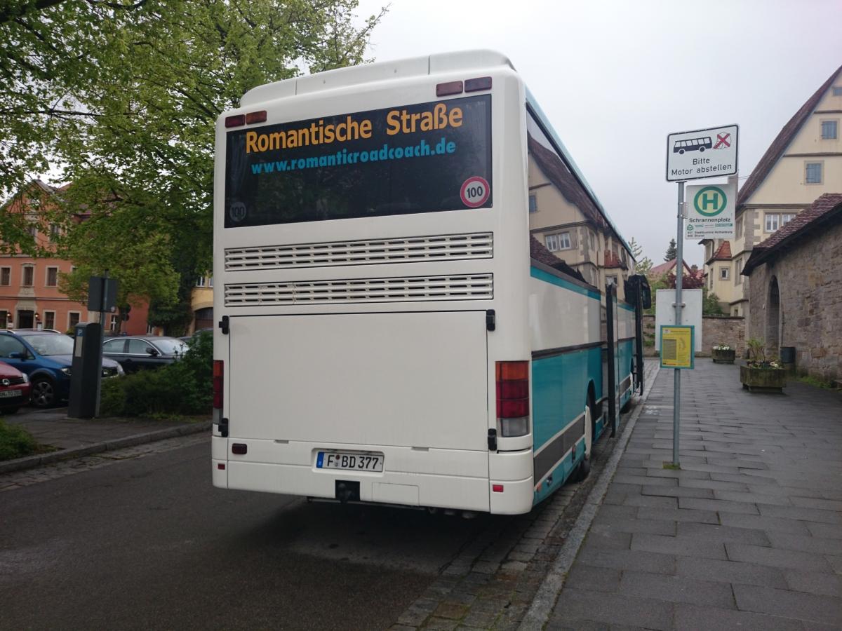 ローテンブルク ロマンチック街道バス