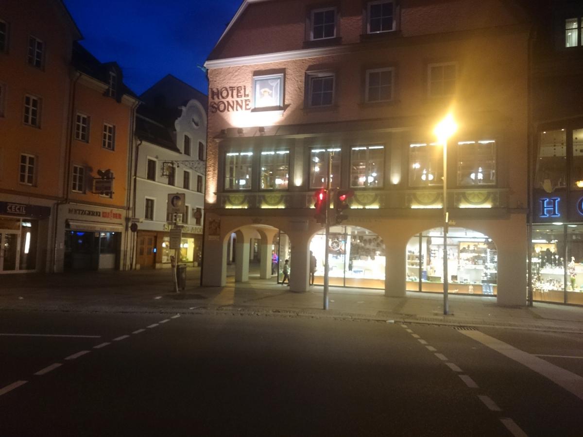 フュッセン Hotel Sonne