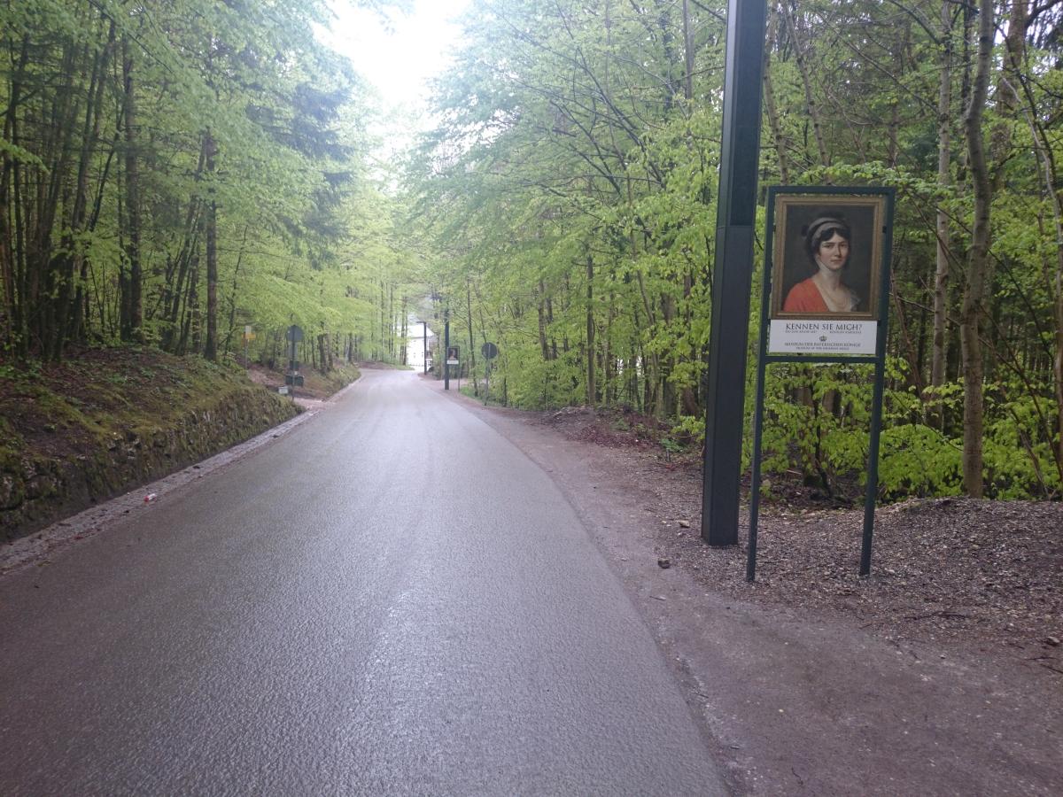 ノイシュヴァンシュタイン城 徒歩
