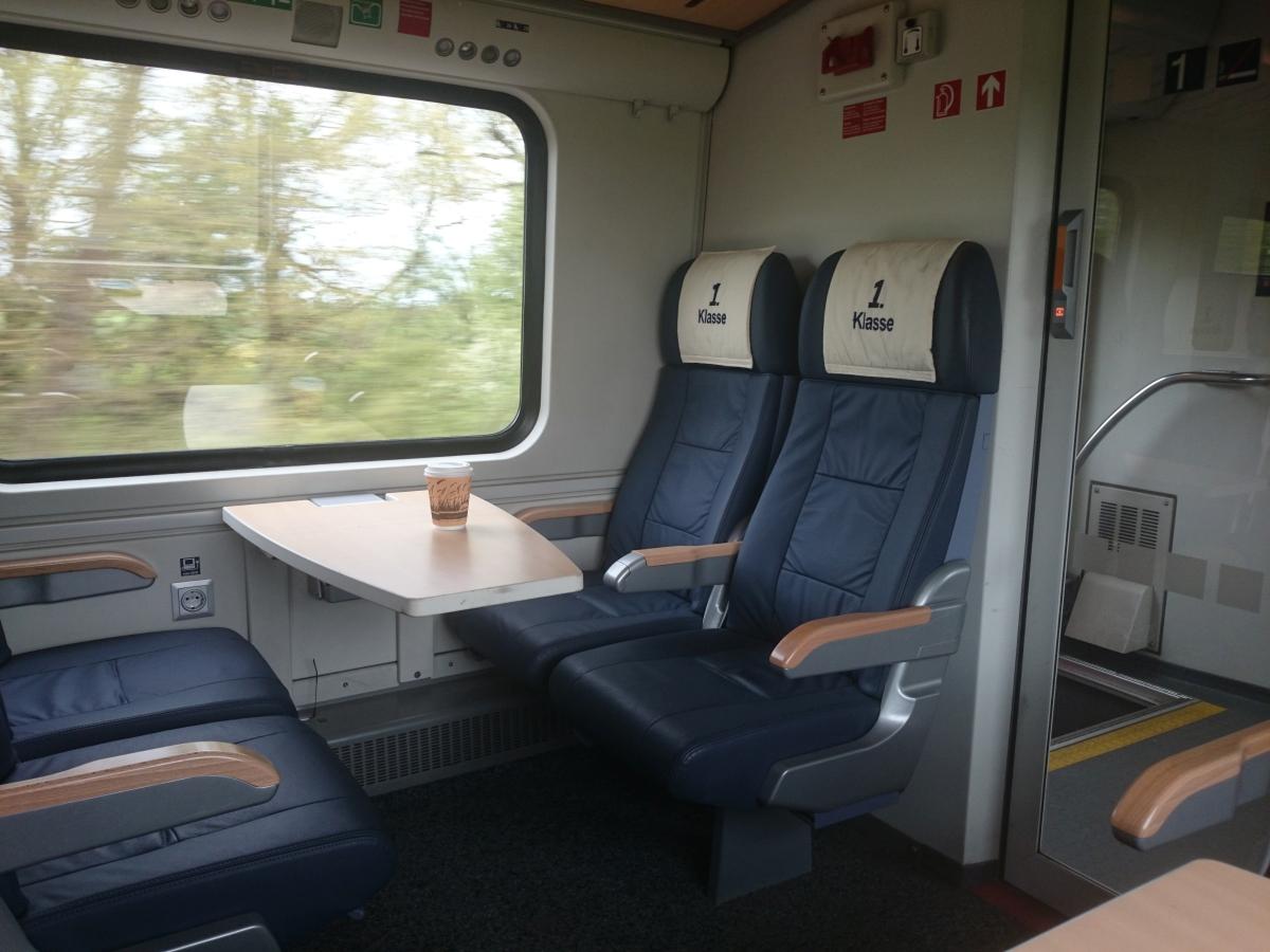 ドイツ鉄道 1st class