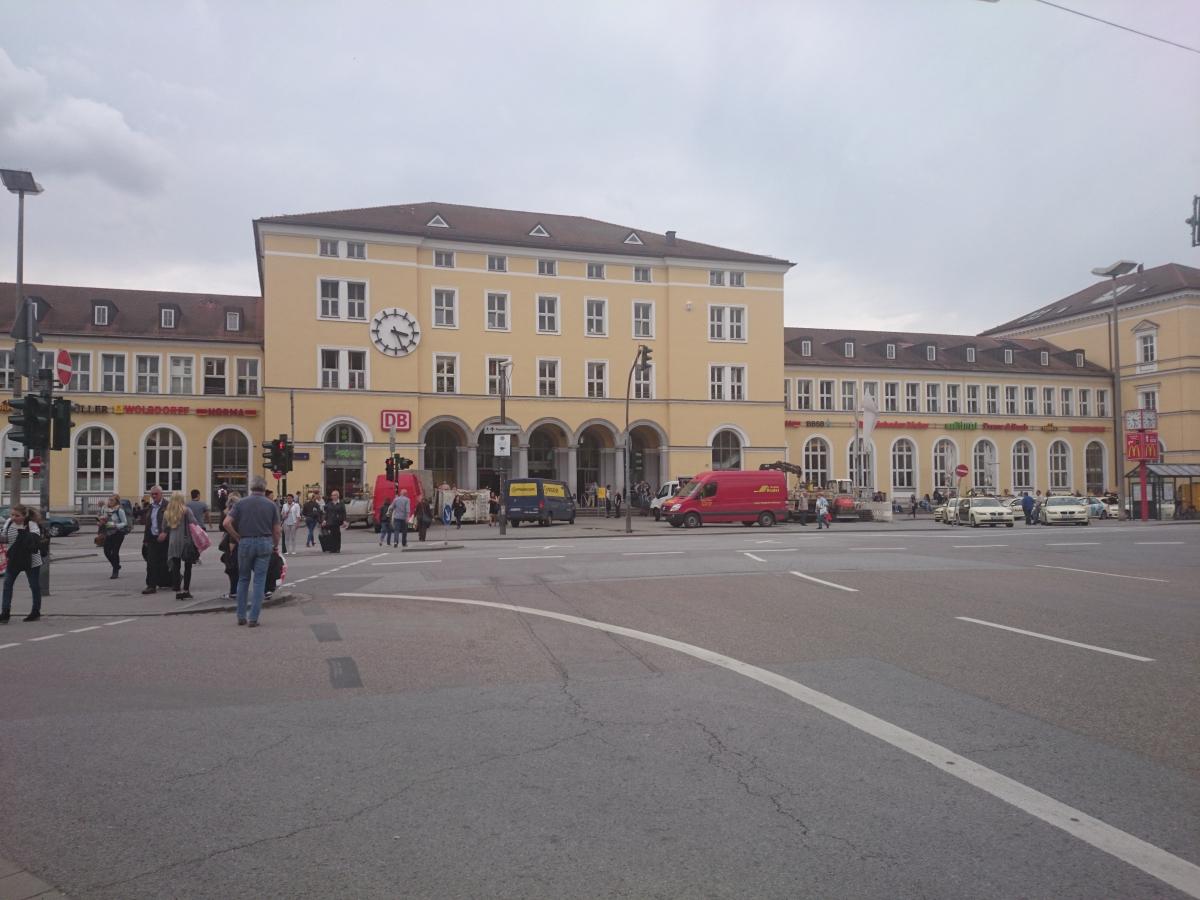レーゲンスブルク中央駅