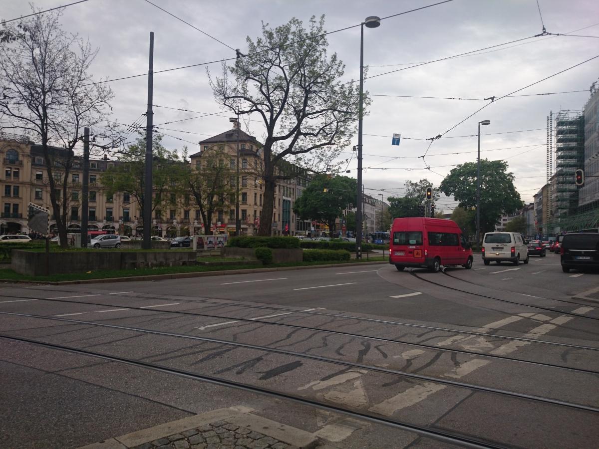 ミュンヘン カールス広場