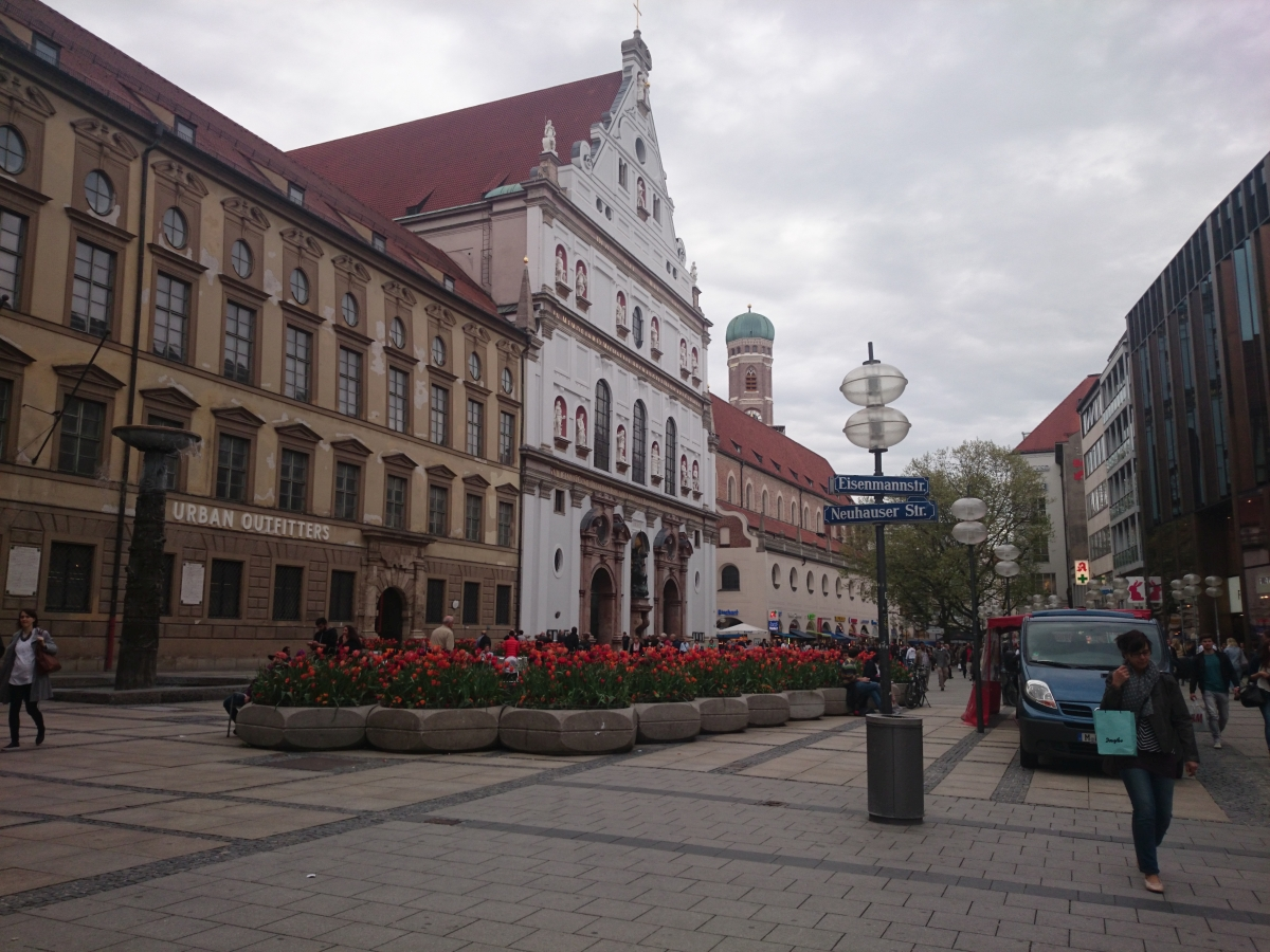 ミュンヘン ミヒャエル教会