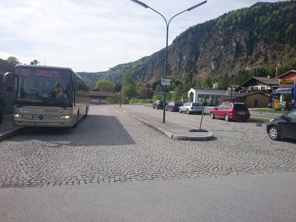 ザンクト・ギルゲン バス停