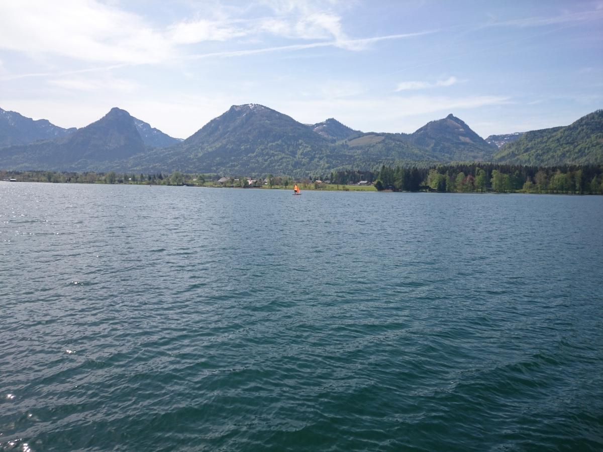 ヴォルフガング湖 遊覧船