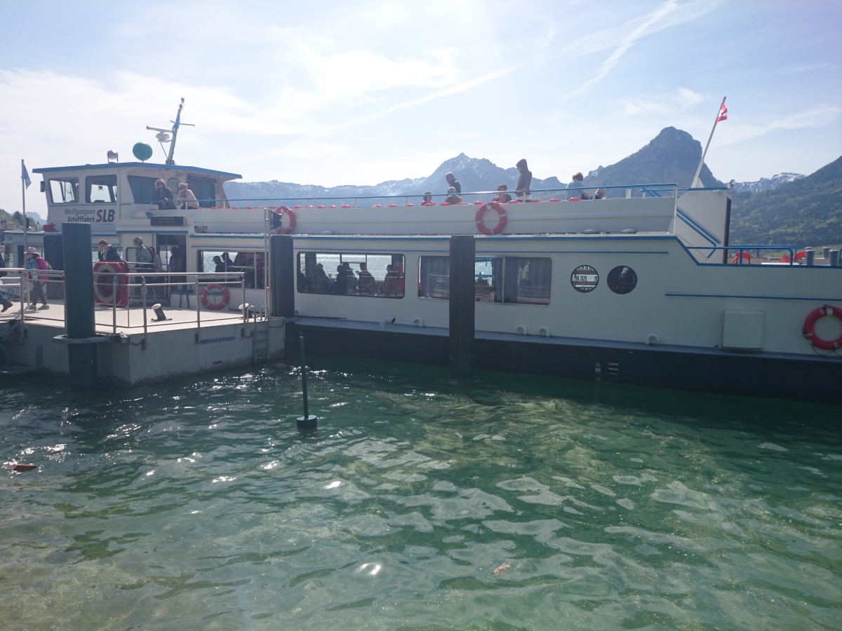 ヴォルフガング湖 遊覧船 ザンクト・ヴォルフガング