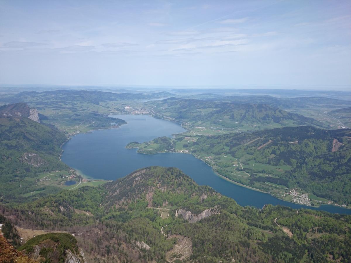シャーフベルク登山鉄道 モンド湖